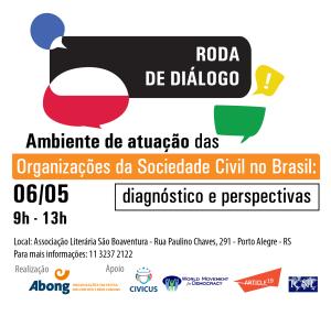 RODA DE DIALOGO ABONG