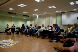 Reunião do comitê organizador do Fórum Social Temático e movimentos sociais aconteceu no último sábado (5) | Foto: Fernanda Canofre/Sul21