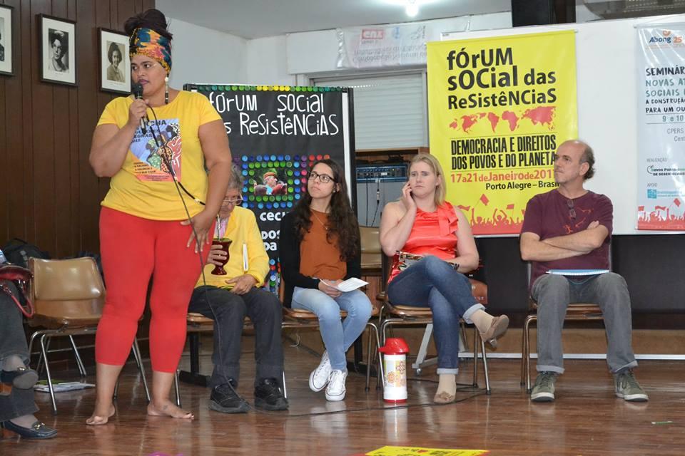O Seminário de planejamento, organização e metodologia do Fórum Social das Resistências aconteceu nos dias 9 e 10 de dezembro em Porto Alegre.