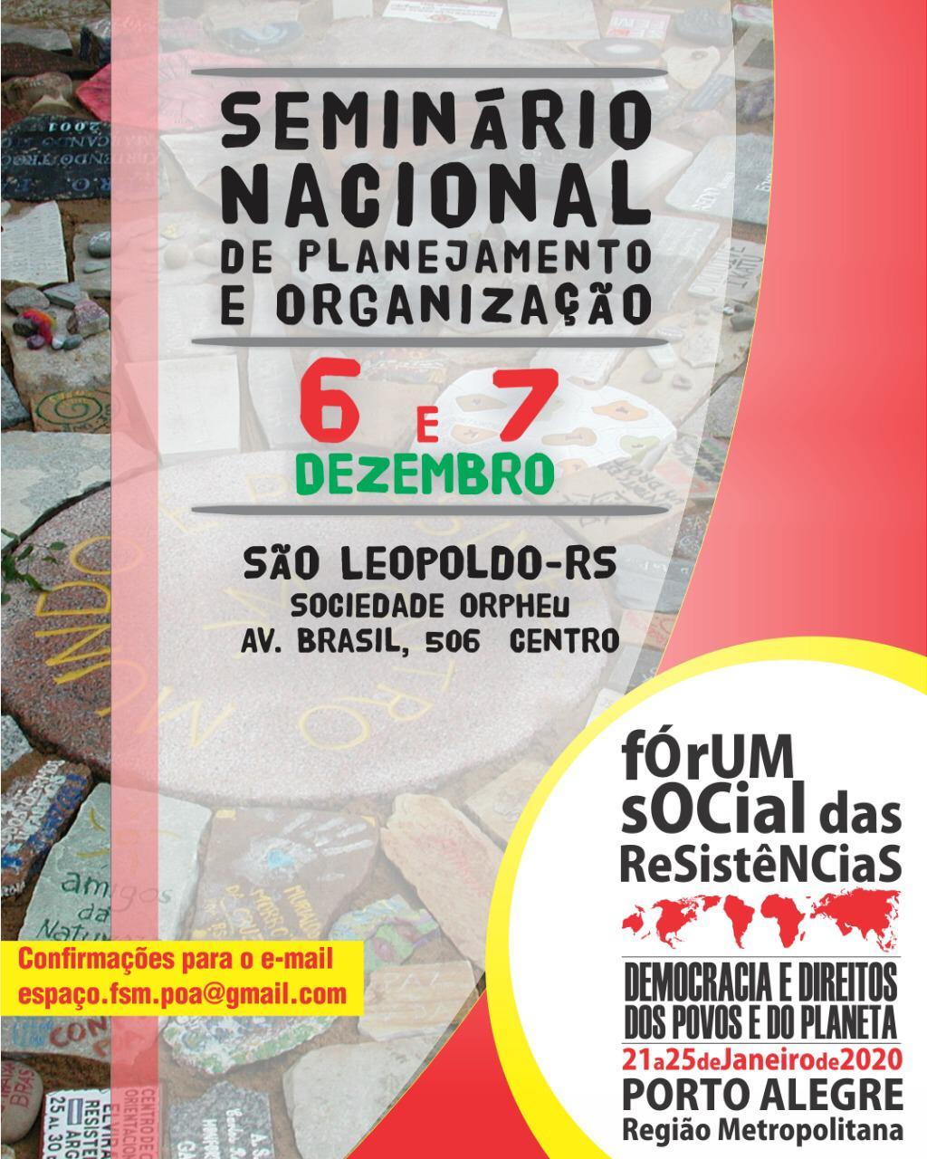 Seminário Nacional de Planejamento e Organização
